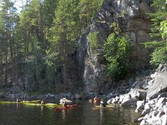 Kayaking Linnansaari-Kolovesi 2 (Finland) by MiikaS, via Flickr