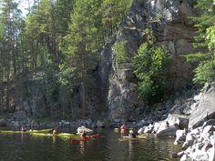 Kayaking Linnansaari-Kolovesi 2 (Finland) by MiikaS, via Flickr