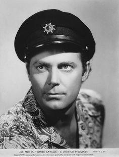 Jon Hall - White Savage (1943) Sea Captain, Captain Hat, Marines, Pilot, Tropical, Hollywood, Island, Savage, Hats