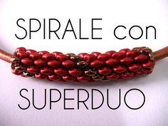 Perline Superduo - Tecnica Spirale - YouTube