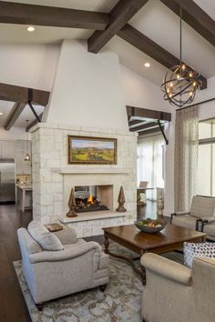 Adorable 80 Incridible Rustic Farmhouse Fireplace Ideas Makeover https://roomadness.com/2017/11/25/80-incridible-rustic-farmhouse-fireplace-ideas-makeover/