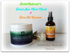 Continuing my 2015 quest for great natural skin care. Check out my review of InstaNaturals Dead Sea Mud Mask & Emu Oil!
