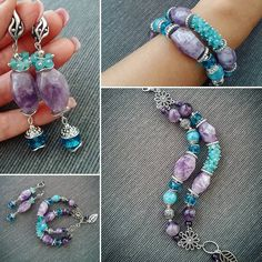 Things You Need to Know About Choosing a Diamond Bracelet Wire Jewelry, Jewelry Crafts, Beaded Jewelry, Jewelery, Handmade Jewelry, Amethyst Bracelet, Gemstone Bracelets, Jewelry Bracelets, Diffuser Jewelry