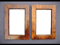 Paar Biedermeier-Spiegel, weitere Bilder unter: www.jkoessler.de