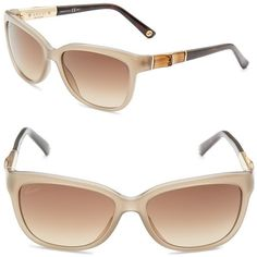 Gucci 55MM Rectangle Sunglasses (150 PAB) ❤ liked on Polyvore featuring accessories, eyewear, sunglasses, rectangular glasses, rectangle sunglasses, gucci eyewear, rectangular sunglasses and lens glasses