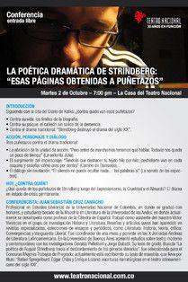 STRINDBERG 100 AÑOS DESPUÉS