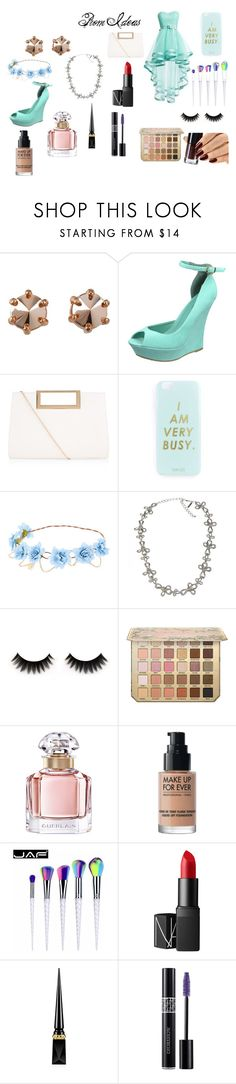 """""""Baby Blue Fashion"""" by pinkynela-vanilla on Polyvore featuring Marc by Marc Jacobs, New Look, Miss Selfridge, Oscar de la Renta, Guerlain, MAKE UP FOR EVER, NARS Cosmetics, Christian Louboutin and Christian Dior"""