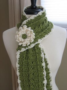Ravelry: Country Crochet Cable Scarf Pattern Pdf pattern by Deborah Devlin