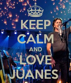 Juanes.. I truely have found my hispanic celebrity crush!!! AHH!