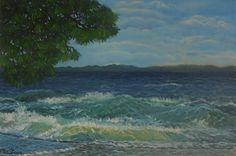 Wavy Mood at Olive Bay by Petra Theodoridou