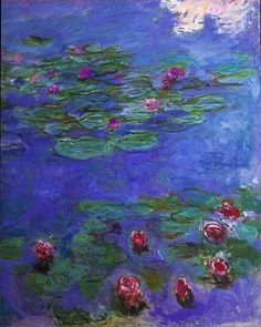 off Hand made oil painting reproduction of Red Water-Lilies one of the most famous paintings by Claude Oscar Monet. During the end of the Claude Oscar Monet went through a difficult financial period. Claude Monet, Artist Monet, Art Amour, Kunsthistorisches Museum, Monet Paintings, Paintings Famous, Flower Paintings, Canvas Paintings, Painting Art