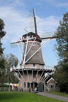 Flour mill De Pionier, Slagharen, the Netherlands