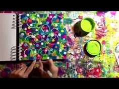 Mixed Media Morsels 7 - Circles - YouTube (29:05)