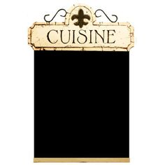 Chalkboard for your French Country Kitchen Decor: Office Products