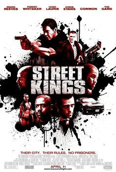 Street Kings The Movie w/ Keanu Reeves 2008 Top Movies, Great Movies, Movies To Watch, Awesome Movies, Love Movie, I Movie, Movie List, Keanu Reeves Movies, Cedric The Entertainer