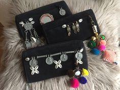 #bohemian# handmade#wallets#coins#ponpons#shells#www.bohemianwishes.nl
