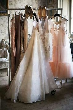 dream dresses come to life in my beautiful luxurious closet!