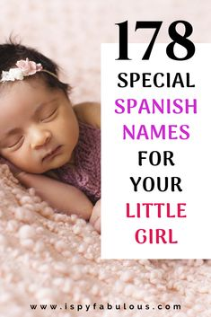 These beautiful Spanish girl names will give you so many gorgeous baby name options for your new little bundle of joy. From classics that are timeless and exotic to unique Spanish names that are beautiful, the only choice you'll have is which one? Hispanic Baby Names Girls, Mexican Girl Names, Latin Baby Girl Names, Italian Girl Names, Baby Girl Names Spanish, Modern Baby Names, Baby Girl Names Unique, Beautiful Girl Names, New Baby Names