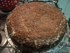 bolo de chocolate com banana wwweunacozinha.blogspot.com