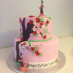 Brilliant Mulan cake  Pinterest: EmanAlRais ✨