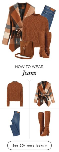 """#Farbberatung #Stilberatung #Farbenreich mit www.farben-reich.com """"Brown tones"""" by lenaick on Polyvore featuring Acne Studios and Boohoo"""