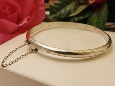 Stunning Vintage 925 Sterling Silver Hinged by TheJewelryCabinet, $39.99