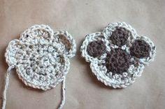 Crochet+Dog+Aplique+Pattern   Repeat Crafter Me: Puppy Dog Lovey Blanket Crochet Pattern