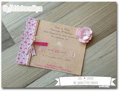 On reprend avec cette nouvelle année de bonnes habitudes et je recommence à publier régulièrement sur le blog (enfin j'espère m'y tenir...) ... Faire Part Liberty, Faire Part Communion, Welcome Baby, Scrapbook Cards, Scrapbooking, Diy Art, Baby Photos, Stampin Up, Mosaic