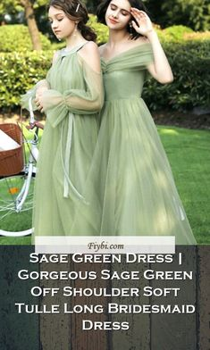 """""""Sage Green Dress, that is the subject of this week... Hello my pretty follower. Our editors have compiled these 4 Sage Green Dress pins from 154+ different ideas for you. While doing this, We paid attention to the fact that there are designs that can be viral in 2020 and many more. Please click on the 'Read More' button to get the rest of the content associated to the Sage Green Dress to... Bridesmaid Dresses, Prom Dresses, Formal Dresses, Wedding Dresses, Sage Green Dress, Tulle, Rest, Content, Button"""