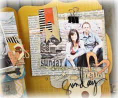 Heidi Swapp, Mini Albums, Layouts, Desktop, Scrapbooking, Crafts, Art, Art Background, Manualidades