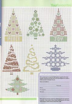 Christmas tree cross stitch!