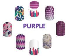Brand new purple wraps from Spring 2016 catalog!! Monica Brady - Independent Consultant geekyzebras.jamberry.com