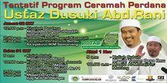 Program Utz Dasuki Abd Rani di Kuching pada 30 Okt hingga 1 Nov 2015