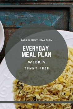 Week 5 meal plan is easy to follow with comforting and filling recipes... Easy Weekly Meals, Weekly Meal Planner, Lunch Recipes, Vegan Recipes, Dinner Recipes, Raw Banana, Tea Time Snacks, Vegan Meal Plans, Vegetable Curry