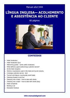 ufcd 3444. Língua inglesa - Acolhimento e assistencia ao cliente