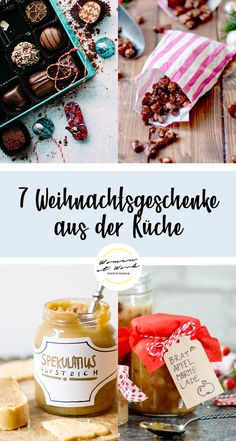 7 gifts from the kitchen - ideas for Christmas presents - The Christmas season can be wonderful, but it can also mean stress. Especially when you ask yoursel - Diy Gifts For Mothers, Diy Gifts For Friends, Easy Diy Gifts, Simple Gifts, Diy Christmas Gifts For Boyfriend, Christmas Presents, Boyfriend Gifts, Christmas Diy, Valentines Day Food