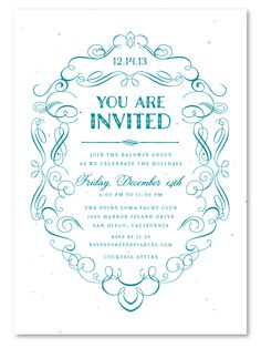 Unique invitations you can plant black tie gala business elegant business invitations formal scrolls stopboris Images