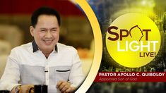 Watch the premiere episode of Pastor Apollo C. Quiboloy's newest program, SPOTLIGHT. Spiritual Enlightenment, Spirituality, Kingdom Of Heaven, T Lights, New Program, Son Of God, Sands, Beach Resorts, Apollo