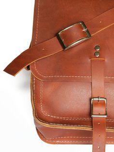 3612bcb9f74d2 DUMAINE ll handmade leather messenger bag, leather laptop bag. by xobruno -  xobruno