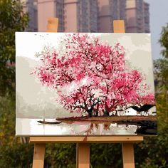 Оформлена картина впечатление южного Китая DIY картина маслом по номерам Куадрос Decoracion стене картинки для гостиной room41126