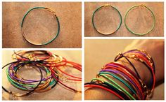 DIY Wire Bracelets | Fashion blog | Oxfam GB