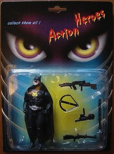 action heroes cat man, bootleg toys