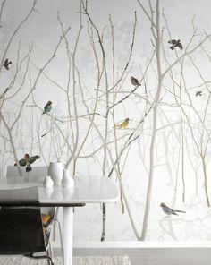 Pattern Jay - Fototapeter & Tapeter - Photowall - prachtig behang - maudjesstyling