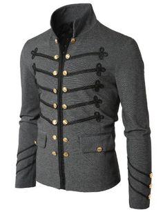 Doublju Mens Button Pointed Zipper Jacket GRAY ASIAN XXL(GXAK08) Doublju,http://www.amazon.com/dp/B006WFG4SY/ref=cm_sw_r_pi_dp_znPwrb0NP7ZA30HX