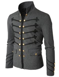 Doublju Mens Button Pointed Zipper Jacket GRAY ASIAN XXL(GXAK08) Doublju,http://www.amazon.com/dp/B006WFG4SY/ref=cm_sw_r_pi_dp_znPwrb0NP7ZA30HX