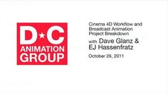 Cinema 4D Workflow and Broadcast Animation Project Breakdown.