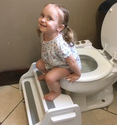 Poop Stoop toilet squat stools add style and beauty to your bathroom, while helping you poop faster, cleaner, easier, and with less straining. Potty Stool, Toilet Step, Potty Training Girls, Baby Planning, Toilet Design, Little Boy And Girl, Toilet Training, Milk Paint, Squats
