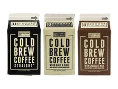 Cold Brew Coffee on Packaging of the World - Creative Package Design Gallery