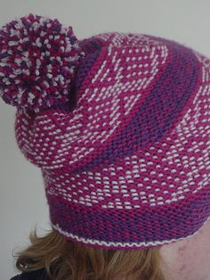 Ravelry: Mor Astrup hat pattern by Sytske Corver Hobbies And Crafts, Arts And Crafts, All Things Purple, Ravelry, Knitting, Crochet, Pattern, How To Make, Socks