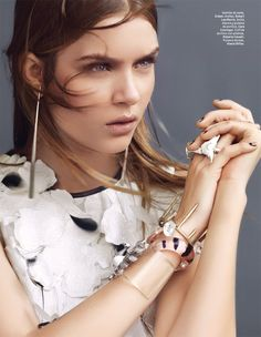visual optimism; fashion editorials, shows, campaigns & more!: josephine skriver by andrew yee for l'officiel mexico april 2014